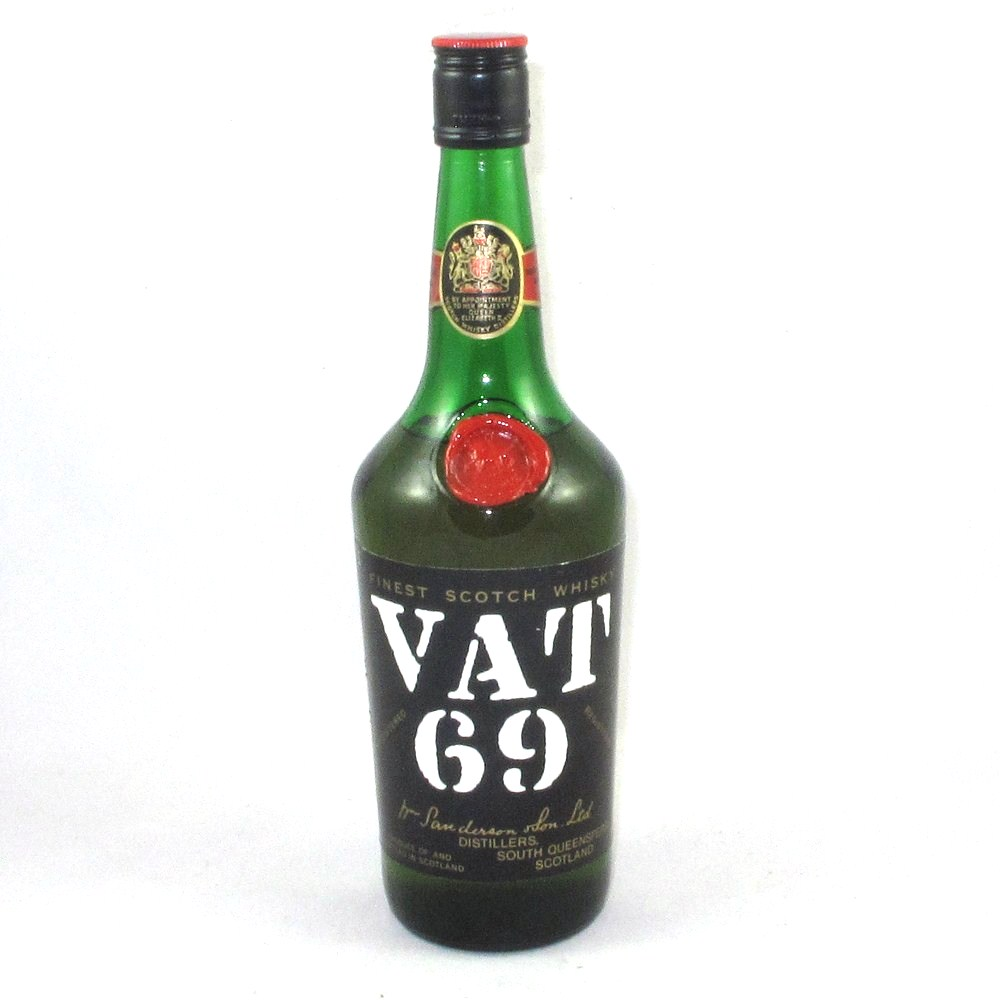 Vat 69 26 2 3rd fl oz with band of brothers boxset whisky