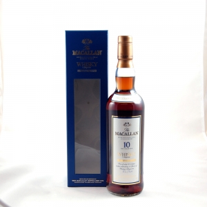 Macallan Whisky Magazine 10th Anniversary  Front