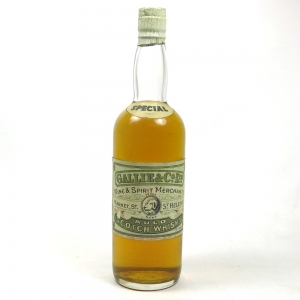 Dalmore 1939 Gallie & Co Front