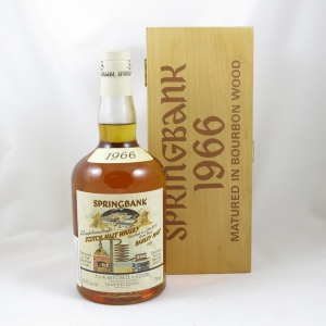 Springbank 1966 Local Barley Cask #480 (US Import) 75cl front