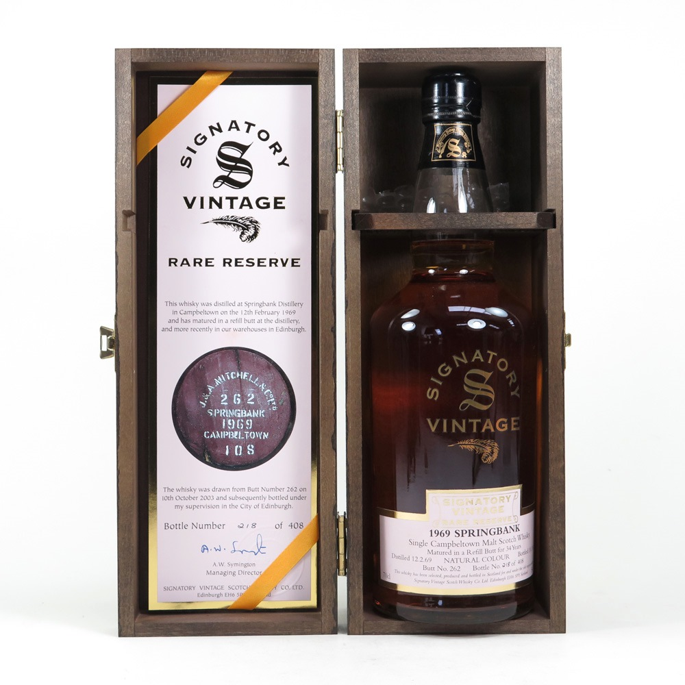 Online coloring for two year olds - Springbank 1969 Signatory Vintage 34 Year Old