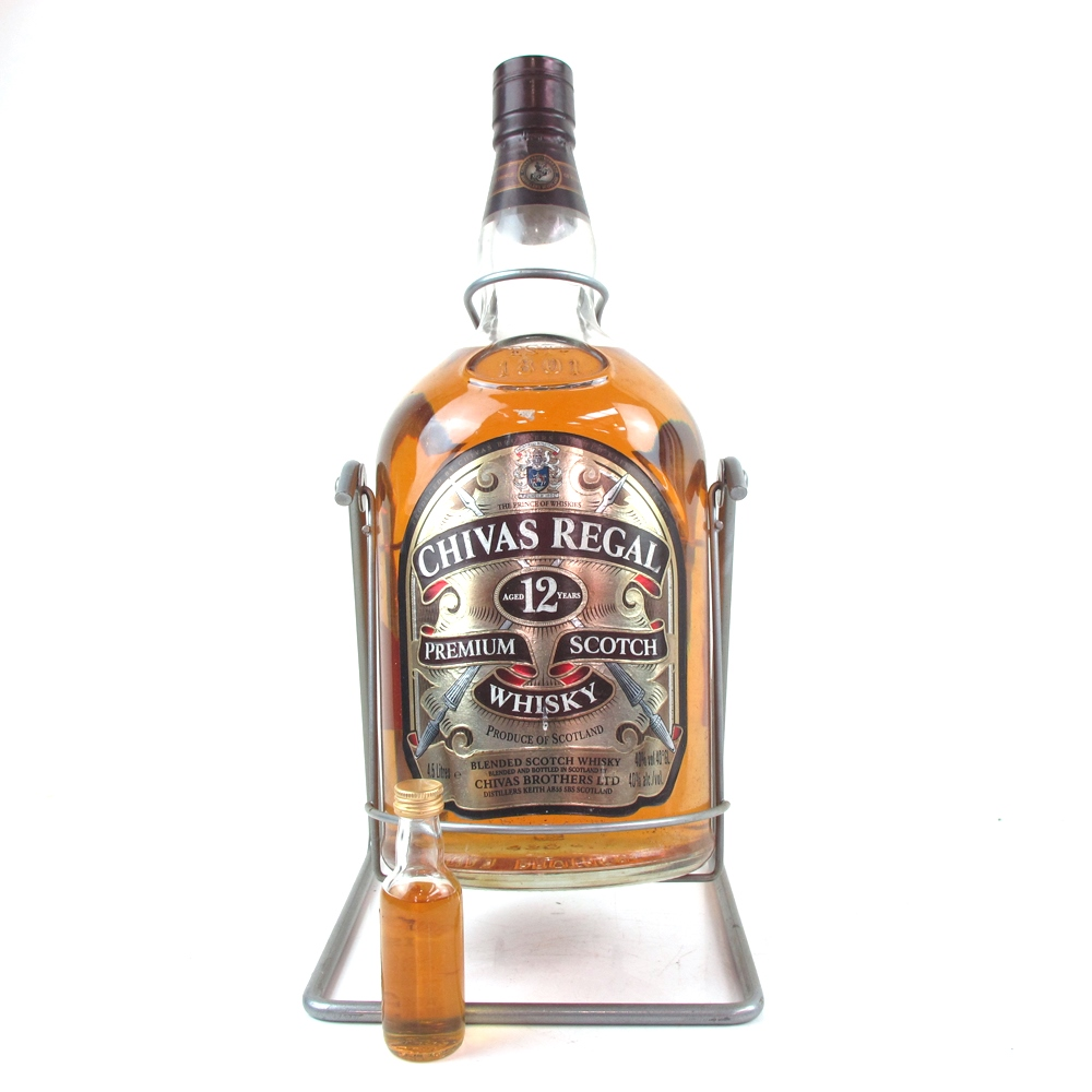 Chivas regal 12 year old 4 5 litre whisky auctioneer scotch whisky auctions online whisky - Chivas regal 18 1 liter price ...