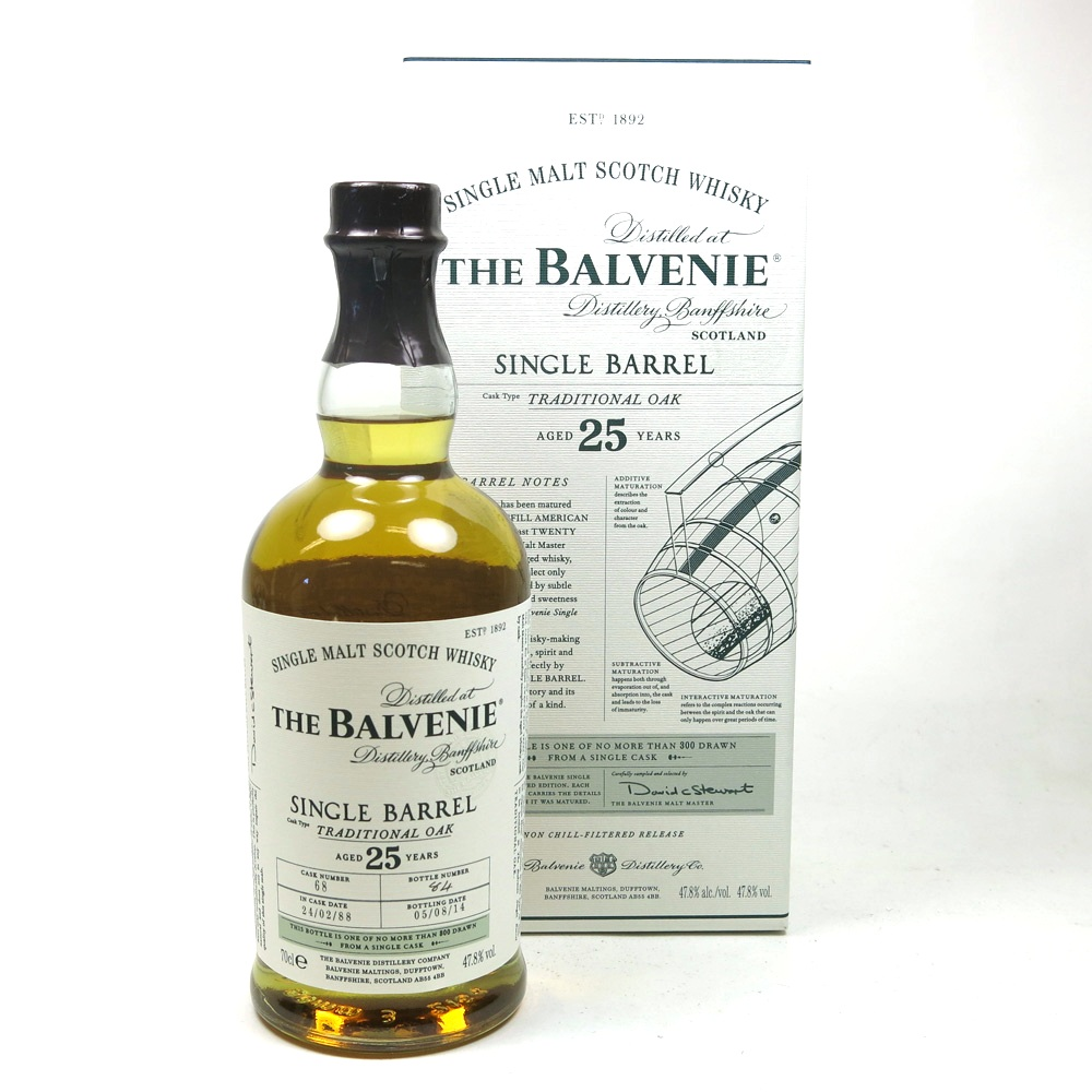 Balvenie 1974 Single Barrel 25 Year Old 20cl | Whisky Auctioneer ...