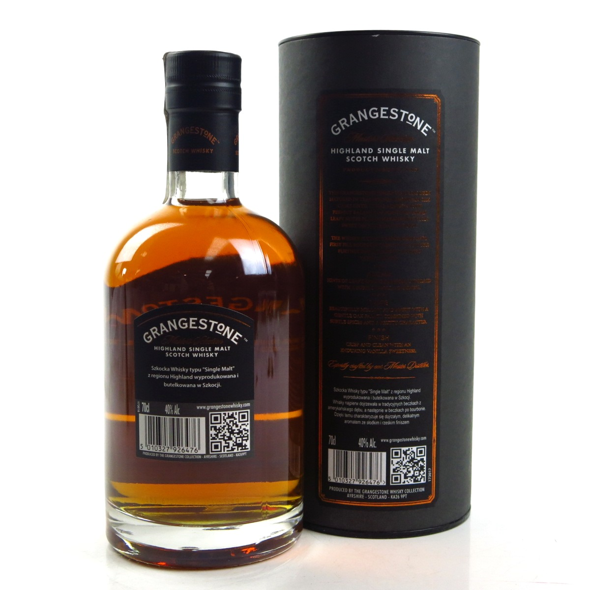 grangestone double cask matured