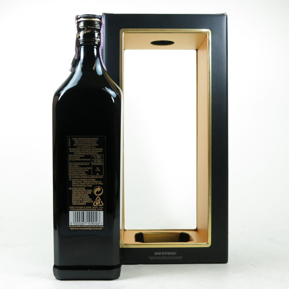 johnnie walker 12 year old black label anniversary edition whisky auctioneer scotch whisky. Black Bedroom Furniture Sets. Home Design Ideas