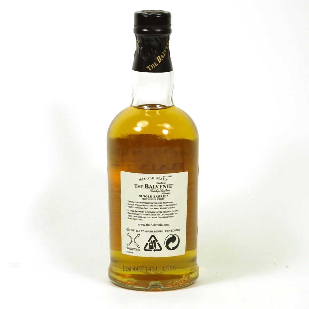 Balvenie 25 Year Old Single Barrel - 47.8% - Cask #73. - Whisky Galore