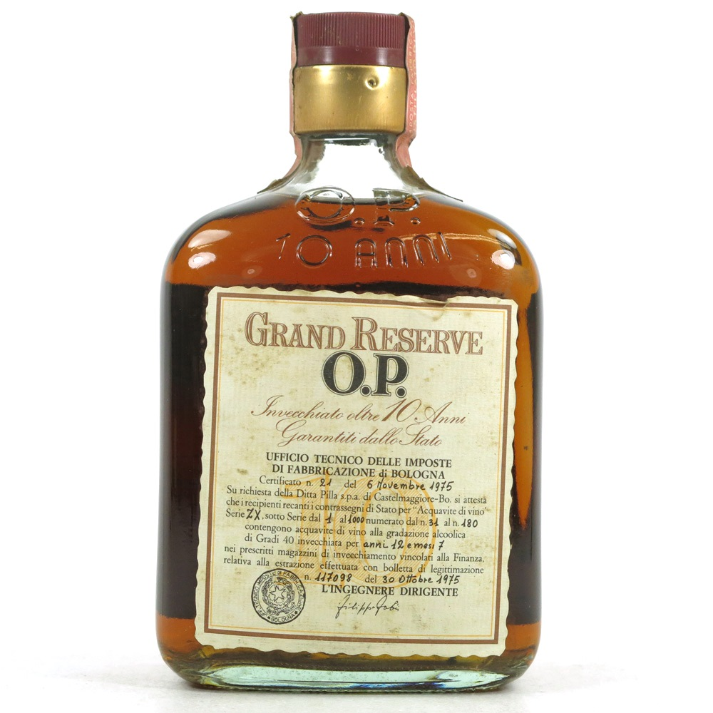 Grand Reserve O.P. 1975 10 Year Old Brandy