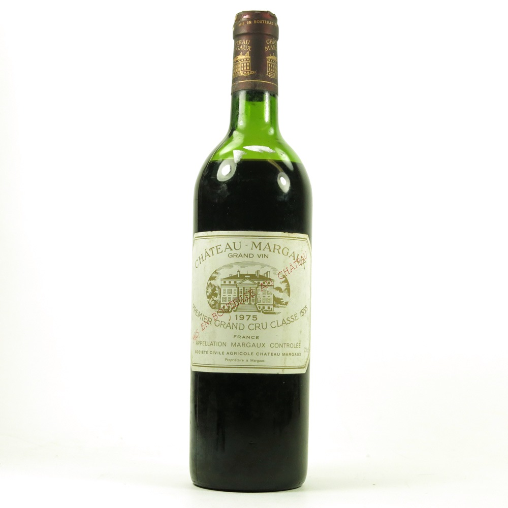 Chateau margaux grand vin 1975 whisky auctioneer for Chateau margaux