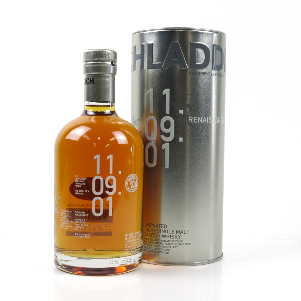 Image result for bruichladdich 9 2001 renaissance