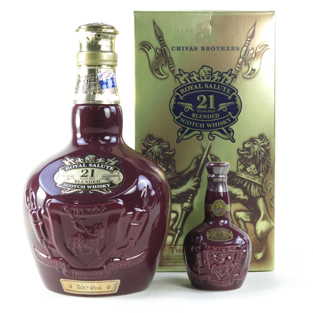 Chivas Regal 21 Year Old Royal Salute Including 5cl