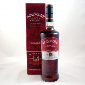 Bowmore Devil's Cask 10 Years Old Front