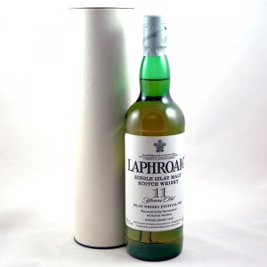 Laphroaig 11 year old 2003 Feis Ile Front