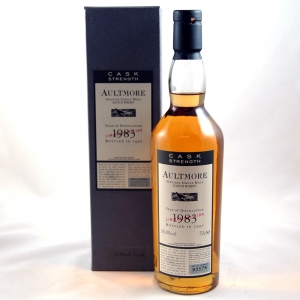 Aultmore 1983 Flora and Fauna Cask Strength Front