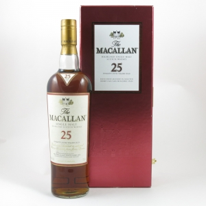Macallan 25 Year Old Sherry Oak (US Import) 75cl front