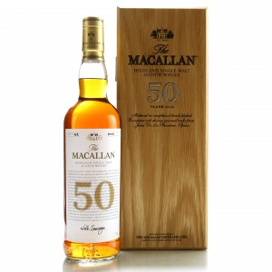 Macallan 50 Year Old 2018 Release 75cl / US Import