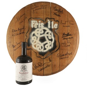 Bunnahabhain 13 Year Old Marsala Finish with Signed Cask End / Feis Ile Committee Charity Lot