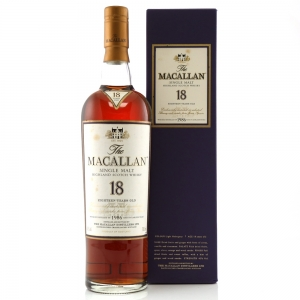 Macallan 1986 18 Year Old
