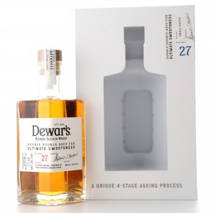 Dewar's 27 Year Old Double Double Aged 37.5cl / US Import