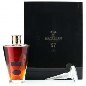 Macallan 57 Year Old Lalique Six Pillars Collection No.3