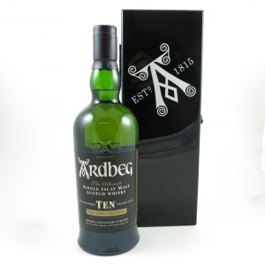 Ardbeg 10 Year Old Black Mystery Front