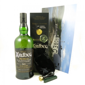 Ardbeg 10 Year Old Tribal Edition Including Ardbeg Calender Front