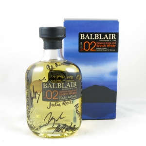 Balblair 2002 (Signed) front