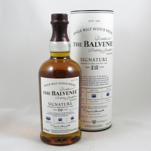 Balvenie 12 Year Old Signature Batch 005 front