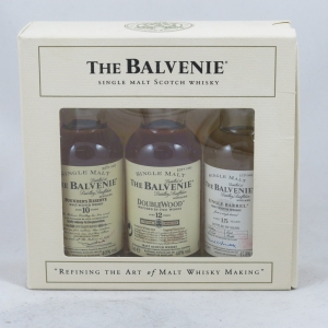 Balvenie Gift Pack (10, 12, 15 Year Old) 3 x 5cl Front