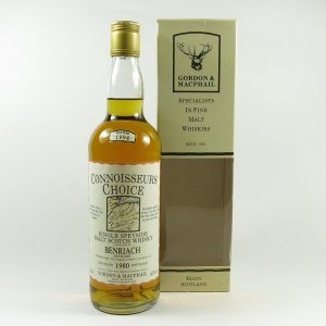 Benriach 1980 Gordon and Macphail Front