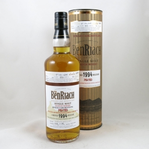 Benriach 1994 Single Cask Peated (UK Exclusive) front