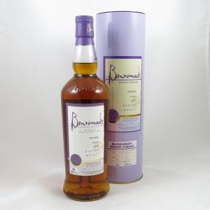 Benromach Burgundy Wood Finish front