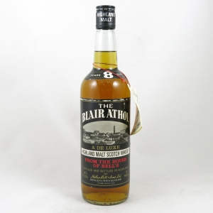 Blair Athol 8 Year Old - De Luxe 1970s front
