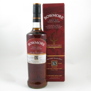 Bowmore Devil's Cask 10 Year Old front