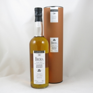 Brora 30 Year Old 2003 Release Front