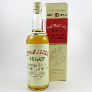 Bruichladdich 10 Year Old (Old Style) Front
