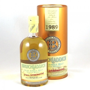 Bruichladdich 1989 Full Strength 13 Year Old Front