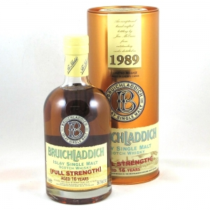 Bruichladdich 1989 Full Strength 16 Year Old  Front