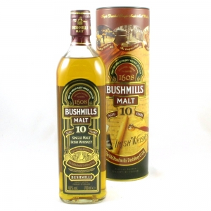 Bushmills 10 Year Old (Old Style) Front