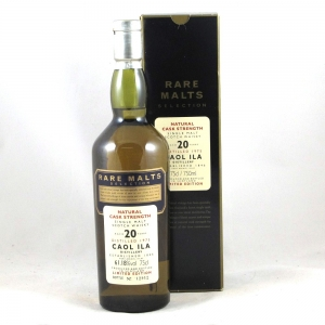 Caol Ila 1975 20 Year Old Rare Malt 75cl Front