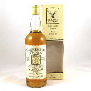 Craigellachie 1974 Gordon and Macphail 75cl Front