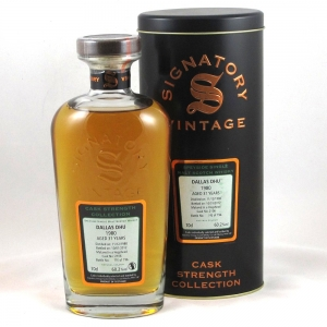 Dallas Dhu 1981 Signatory Vintage 31 Year Old Front