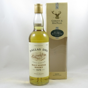 Dallas Dhu 1979 Gordon and Macphail 18 Year Old front