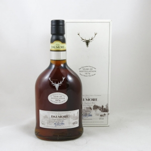 Dalmore 1974 Single Cask 32 Year Old (Signed) front