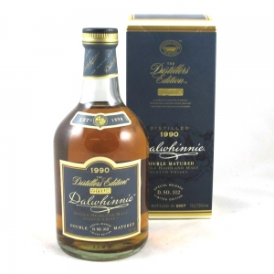 Dalwhinnie 1990 Distillers Edition Front