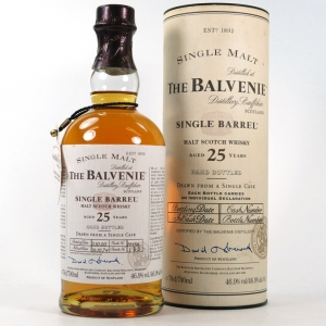 Balvenie 1974 Single Barrel 25 Year Old front