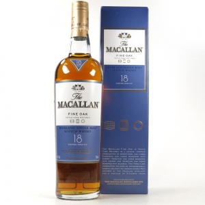 Macallan 18 Year Old Fine Oak