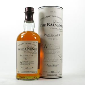 Balvenie 17 Year Old Peated Cask 75cl / US Import Front