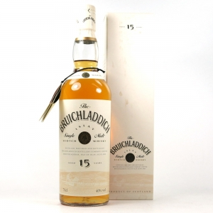 Bruichladdich 15 Year Old 1990s Front