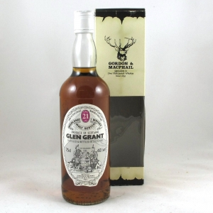 Glen Grant 21 Year Old Gordon and Macphail 75cl Front
