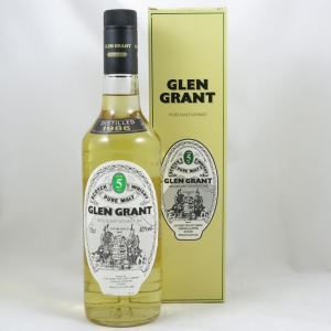 Glen Grant 1986 5 Year Old Front